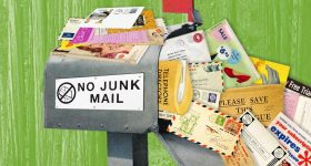 Reduce Unwanted Mail