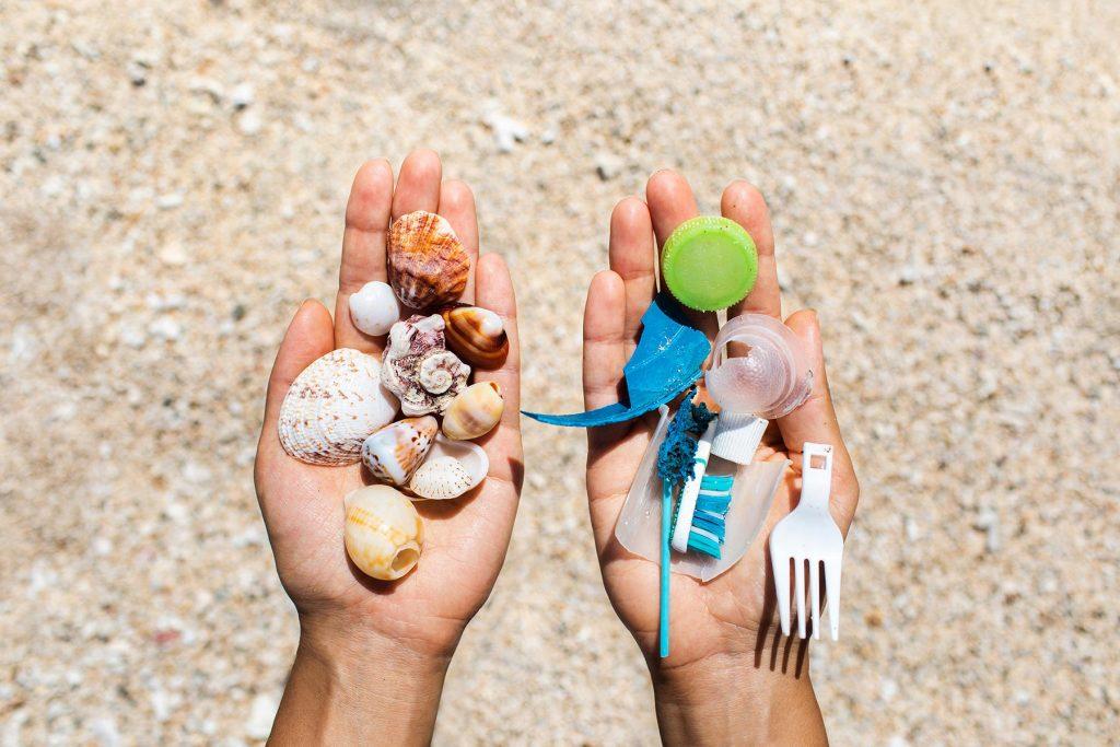 Plastics in the ocean