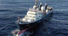 Falkor Research Vessel