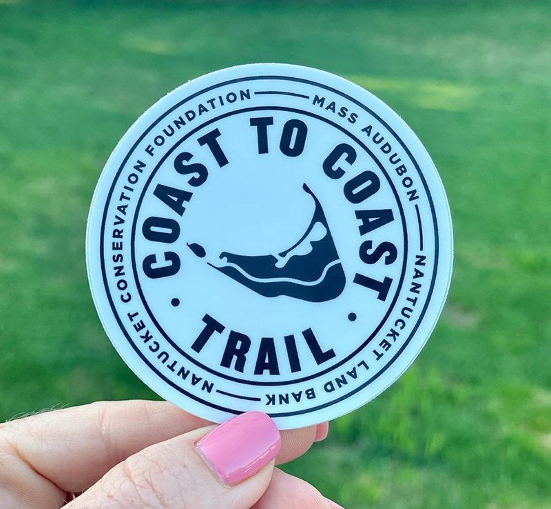Coast to coast Trail Sticker